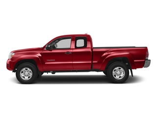Barcelona Red Metallic 2015 Toyota Tacoma Pictures Tacoma Base Access Cab 4WD V6 photos side view