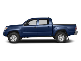 Blue Ribbon Metallic 2015 Toyota Tacoma Pictures Tacoma PreRunner 2WD I4 photos side view