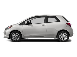 Super White 2015 Toyota Yaris Pictures Yaris Hatchback 3D LE I4 photos side view