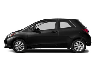 Black Sand Pearl 2015 Toyota Yaris Pictures Yaris Hatchback 3D LE I4 photos side view