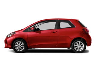 Absolutely Red 2015 Toyota Yaris Pictures Yaris Hatchback 3D LE I4 photos side view