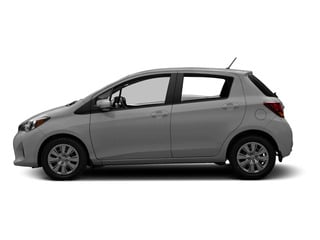 Classic Silver Metallic 2015 Toyota Yaris Pictures Yaris Hatchback 5D SE I4 photos side view