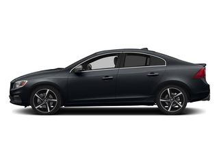 Black Sapphire Metallic 2015 Volvo S60 Pictures S60 Sedan 4D T6 Platinum R-Design AWD photos side view