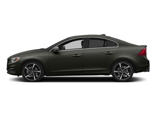 Savile Gray Metallic 2015 Volvo S60 Pictures S60 Sedan 4D T6 Platinum R-Design AWD photos side view