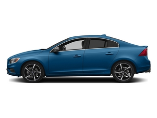 Rebel Blue 2015 Volvo S60 Pictures S60 Sedan 4D T6 Platinum R-Design AWD photos side view