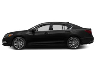 Crystal Black Pearl 2016 Acura RLX Pictures RLX Sedan 4D Technology V6 photos side view