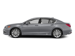 Slate Silver Metallic 2016 Acura RLX Pictures RLX Sedan 4D Advance AWD V6 Hybrid photos side view