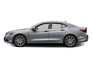 Slate Silver Metallic 2016 Acura TLX Pictures TLX Sedan 4D Technology V6 photos side view