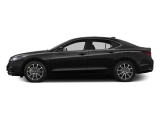 Crystal Black Pearl 2016 Acura TLX Pictures TLX Sedan 4D Advance V6 photos side view