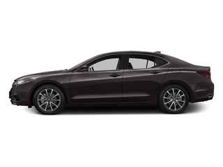 Black Copper Pearl 2016 Acura TLX Pictures TLX Sedan 4D Advance V6 photos side view