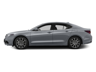 Slate Silver Metallic 2016 Acura TLX Pictures TLX Sedan 4D Advance V6 photos side view