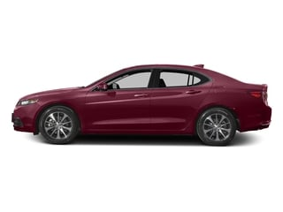 Basque Red Pearl II 2016 Acura TLX Pictures TLX Sedan 4D Technology I4 photos side view
