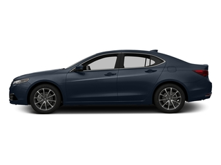 Fathom Blue Pearl 2016 Acura TLX Pictures TLX Sedan 4D Technology AWD V6 photos side view