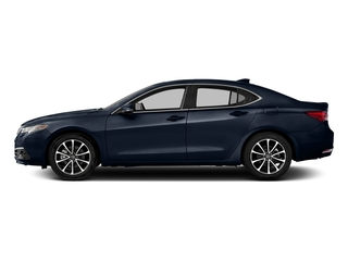 Fathom Blue Pearl 2016 Acura TLX Pictures TLX Sedan 4D Advance AWD V6 photos side view