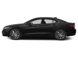 Crystal Black Pearl 2016 Acura TLX Pictures TLX Sedan 4D Technology I4 photos side view