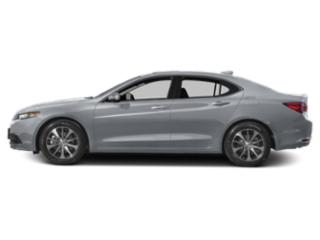 Slate Silver Metallic 2016 Acura TLX Pictures TLX Sedan 4D Technology I4 photos side view