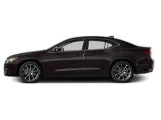 Black Copper Pearl 2016 Acura TLX Pictures TLX Sedan 4D V6 photos side view