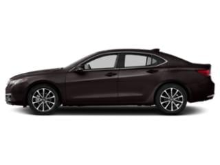 Black Copper Pearl 2016 Acura TLX Pictures TLX Sedan 4D Advance AWD V6 photos side view