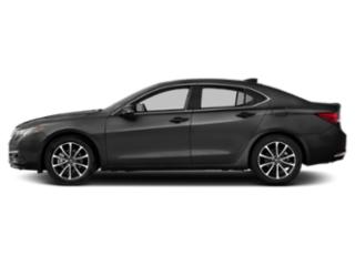 Graphite Luster Metallic 2016 Acura TLX Pictures TLX Sedan 4D Advance AWD V6 photos side view