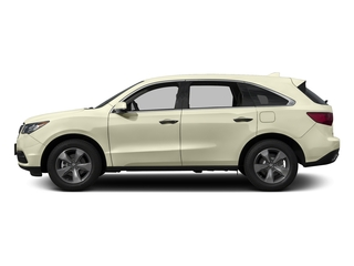 White Diamond Pearl 2016 Acura MDX Pictures MDX Utility 4D AWD V6 photos side view