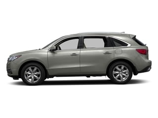 Lunar Silver Metallic 2016 Acura MDX Pictures MDX Utility 4D Advance AWD V6 photos side view