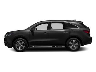 Graphite Luster Metallic 2016 Acura MDX Pictures MDX Utility 4D 2WD V6 photos side view