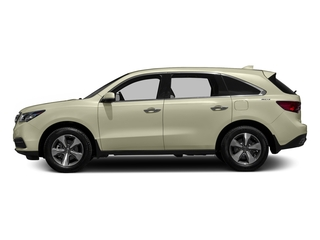 White Diamond Pearl 2016 Acura MDX Pictures MDX Utility 4D 2WD V6 photos side view