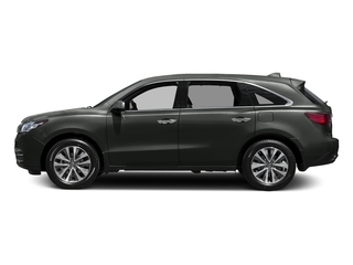 Forest Mist Metallic 2016 Acura MDX Pictures MDX Utility 4D Technology DVD 2WD V6 photos side view