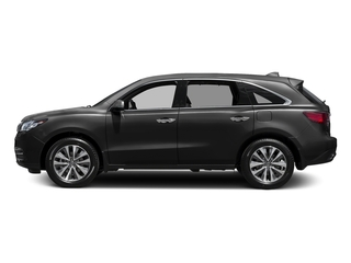 Graphite Luster Metallic 2016 Acura MDX Pictures MDX Utility 4D Technology DVD 2WD V6 photos side view