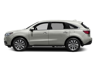 Lunar Silver Metallic 2016 Acura MDX Pictures MDX Utility 4D Technology DVD 2WD V6 photos side view