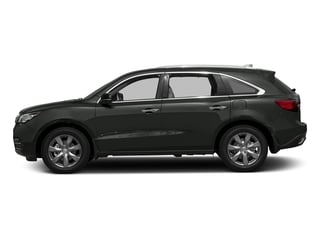 Forest Mist Metallic 2016 Acura MDX Pictures MDX Utility 4D Advance DVD 2WD V6 photos side view