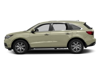 White Diamond Pearl 2016 Acura MDX Pictures MDX Utility 4D Advance DVD 2WD V6 photos side view