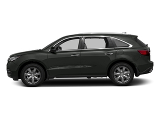 Forest Mist Metallic 2016 Acura MDX Pictures MDX Utility 4D Advance DVD AWD V6 photos side view