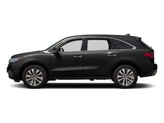 Crystal Black Pearl 2016 Acura MDX Pictures MDX Utility 4D Technology AWD V6 photos side view