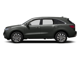 Forest Mist Metallic 2016 Acura MDX Pictures MDX Utility 4D Technology AWD V6 photos side view