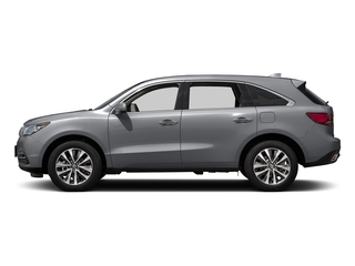 Lunar Silver Metallic 2016 Acura MDX Pictures MDX Utility 4D Technology AWD V6 photos side view