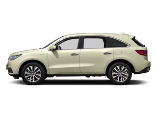 White Diamond Pearl 2016 Acura MDX Pictures MDX Utility 4D Technology AWD V6 photos side view