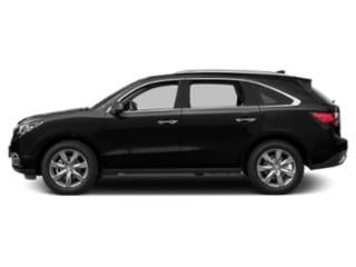 Crystal Black Pearl 2016 Acura MDX Pictures MDX Utility 4D Advance 2WD V6 photos side view