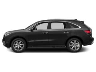 Graphite Luster Metallic 2016 Acura MDX Pictures MDX Utility 4D Advance 2WD V6 photos side view