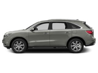 Lunar Silver Metallic 2016 Acura MDX Pictures MDX Utility 4D Advance 2WD V6 photos side view