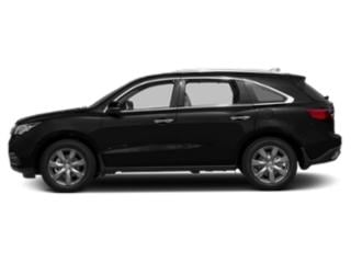 Crystal Black Pearl 2016 Acura MDX Pictures MDX Utility 4D Advance DVD AWD V6 photos side view