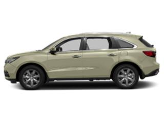 White Diamond Pearl 2016 Acura MDX Pictures MDX Utility 4D Advance DVD AWD V6 photos side view
