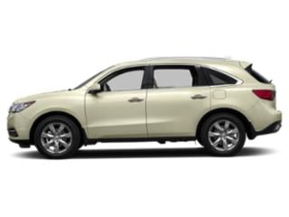 White Diamond Pearl 2016 Acura MDX Pictures MDX Utility 4D Advance AWD V6 photos side view