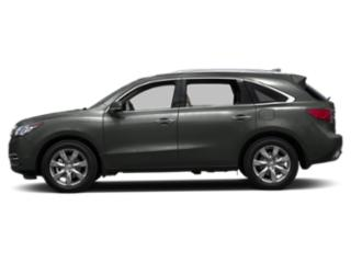 Forest Mist Metallic 2016 Acura MDX Pictures MDX Utility 4D Advance AWD V6 photos side view