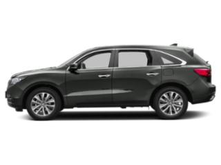 Forest Mist Metallic 2016 Acura MDX Pictures MDX Utility 4D Technology DVD AWD V6 photos side view