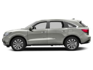 Lunar Silver Metallic 2016 Acura MDX Pictures MDX Utility 4D Technology DVD AWD V6 photos side view