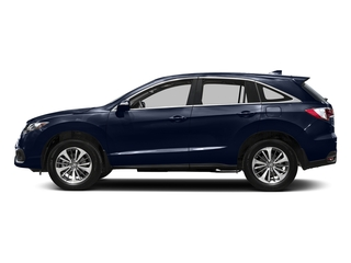 Fathom Blue Pearl 2016 Acura RDX Pictures RDX Utility 4D Advance 2WD V6 photos side view