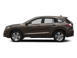 Kona Coffee Metallic 2016 Acura RDX Pictures RDX Utility 4D Advance 2WD V6 photos side view