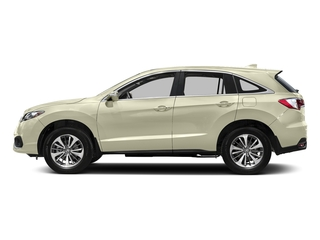 White Diamond Pearl 2016 Acura RDX Pictures RDX Utility 4D Advance 2WD V6 photos side view