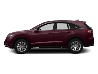 Basque Red Pearl II 2016 Acura RDX Pictures RDX Utility 4D Technology 2WD V6 photos side view
